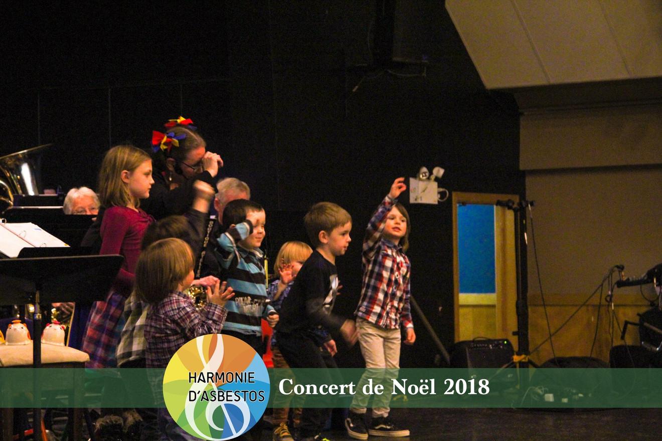 L'éveil musical en prestation à Noël