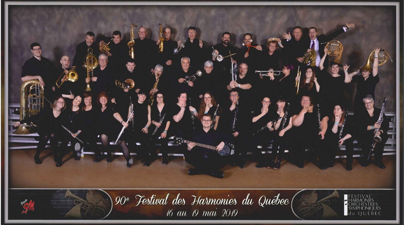 L'Harmonie Sénior au FHOSQ 2019