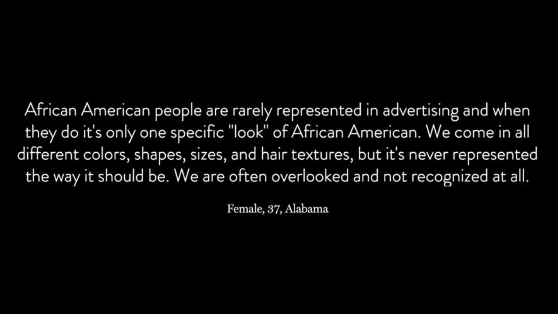 Here's What 500 Black Americans Have to Say About Black Representation in Advertising