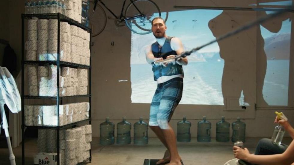 Labatt beer transforms original summer ads to show people having fun - at a distance