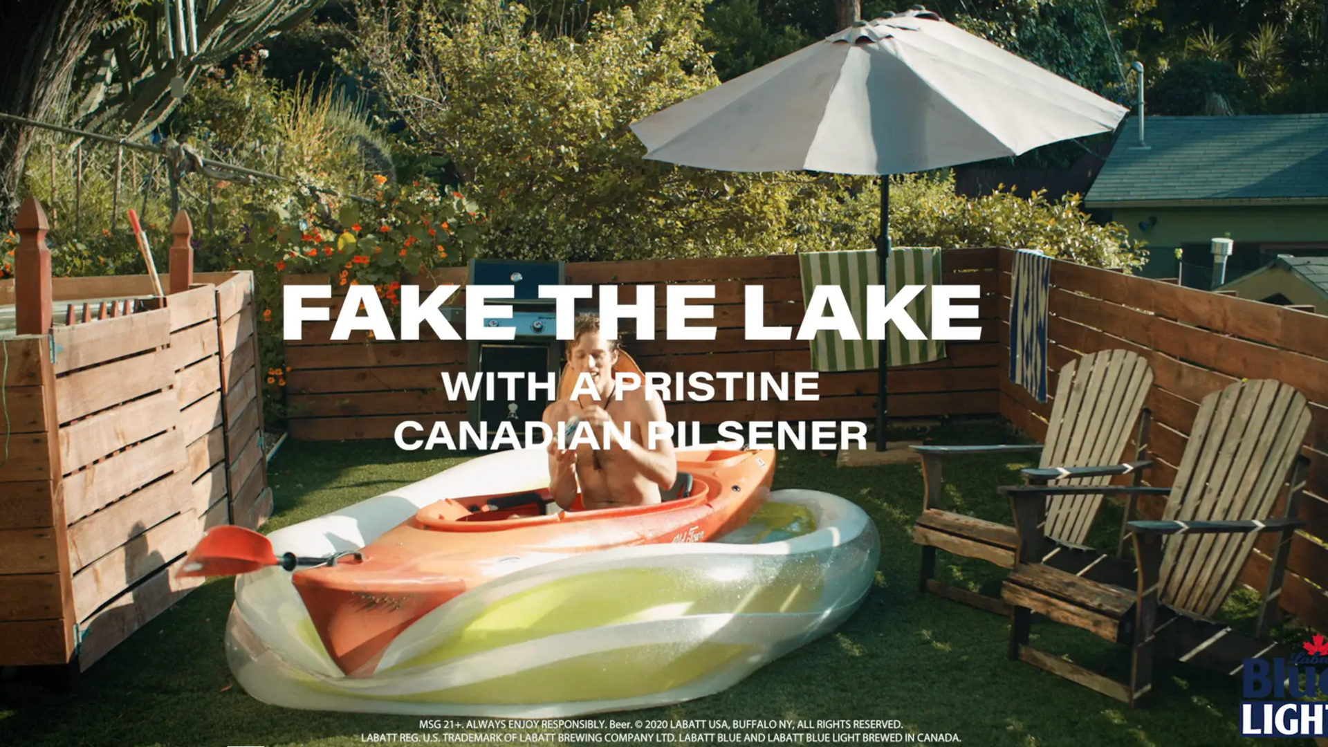Labatt: Fake it Until You Lake it
