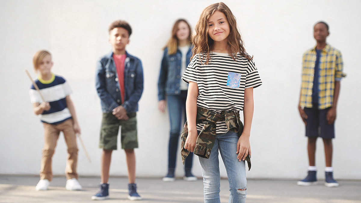 'Gap has beem strugling to find identity': the retailer's back to school campaign targets cool kids and parents