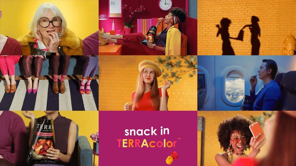 TERRA Launches New Snack in TERRAcolor Campaign by Burns Group