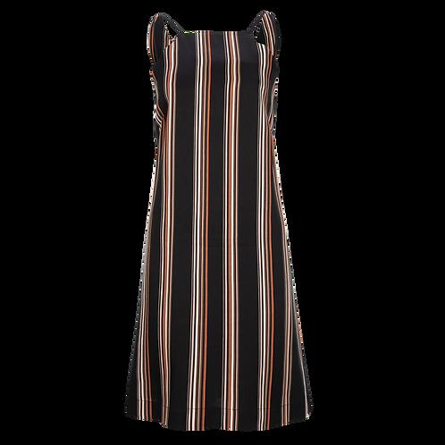 Multicolor Stripe Kleid