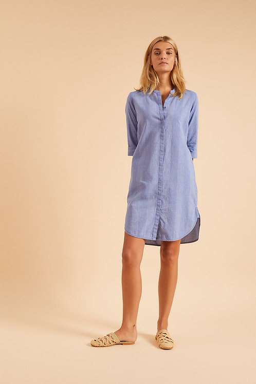 Denim Blue Kleid
