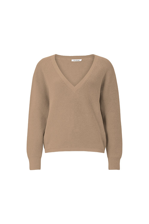 Taupe Oversized Pullover