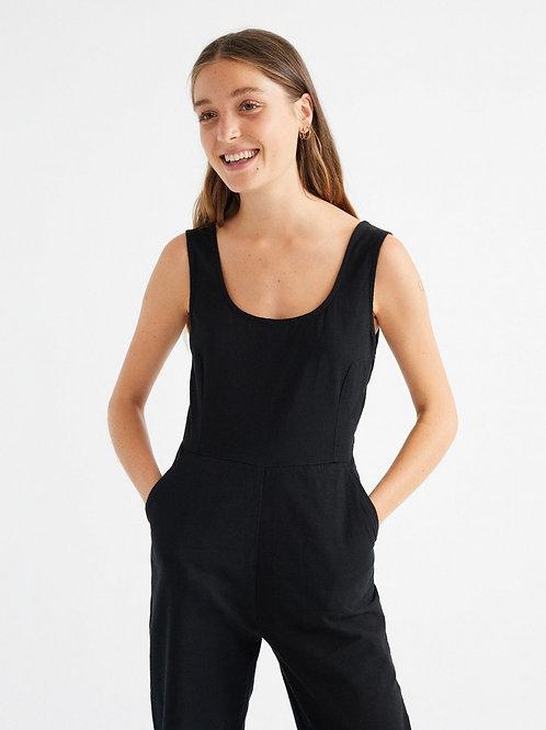 Jumpsuit Rafflesia black