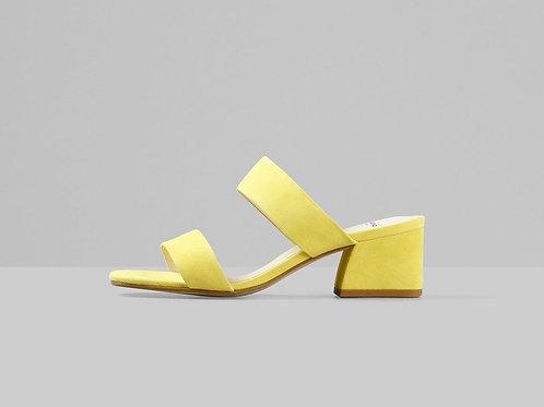 ELENA Citrus Suede Sandals