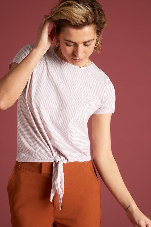 T-Shirt Knot lila