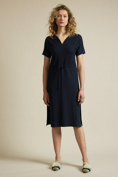 Lanius Kleid V-Ausschnitt