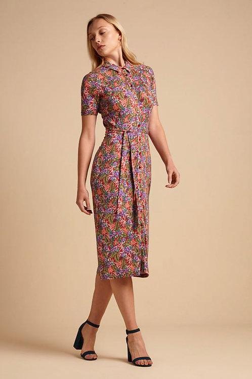 Rosie Dress Slim Fit Bahama