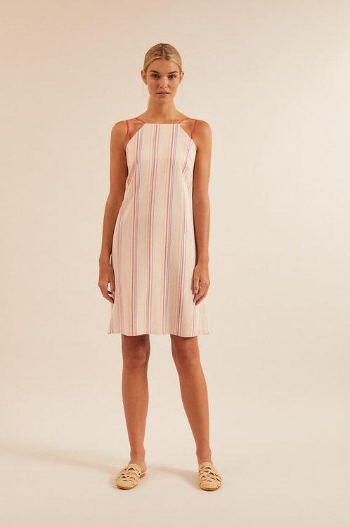 Kleid kurz mit Streifen