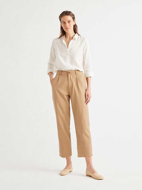 Camel hemp rhino pants