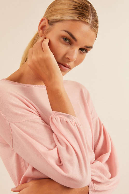 Silverpink Pullover