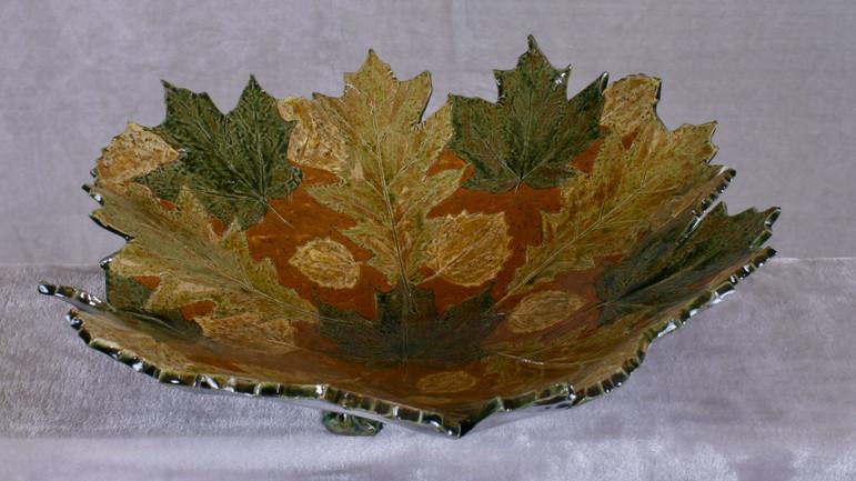 Large forest floor bowl