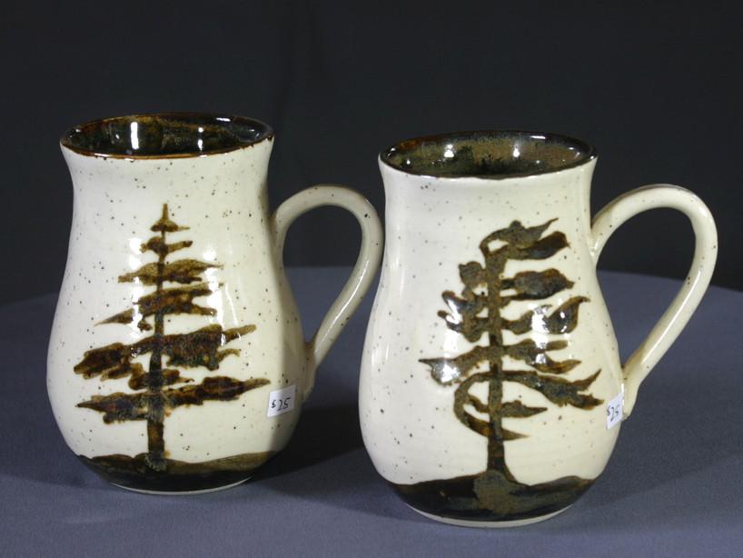 mugs-white pines