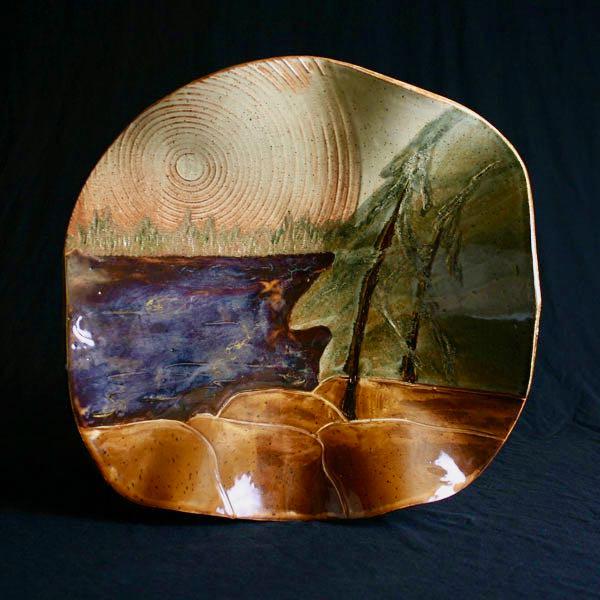Canadian shield platter