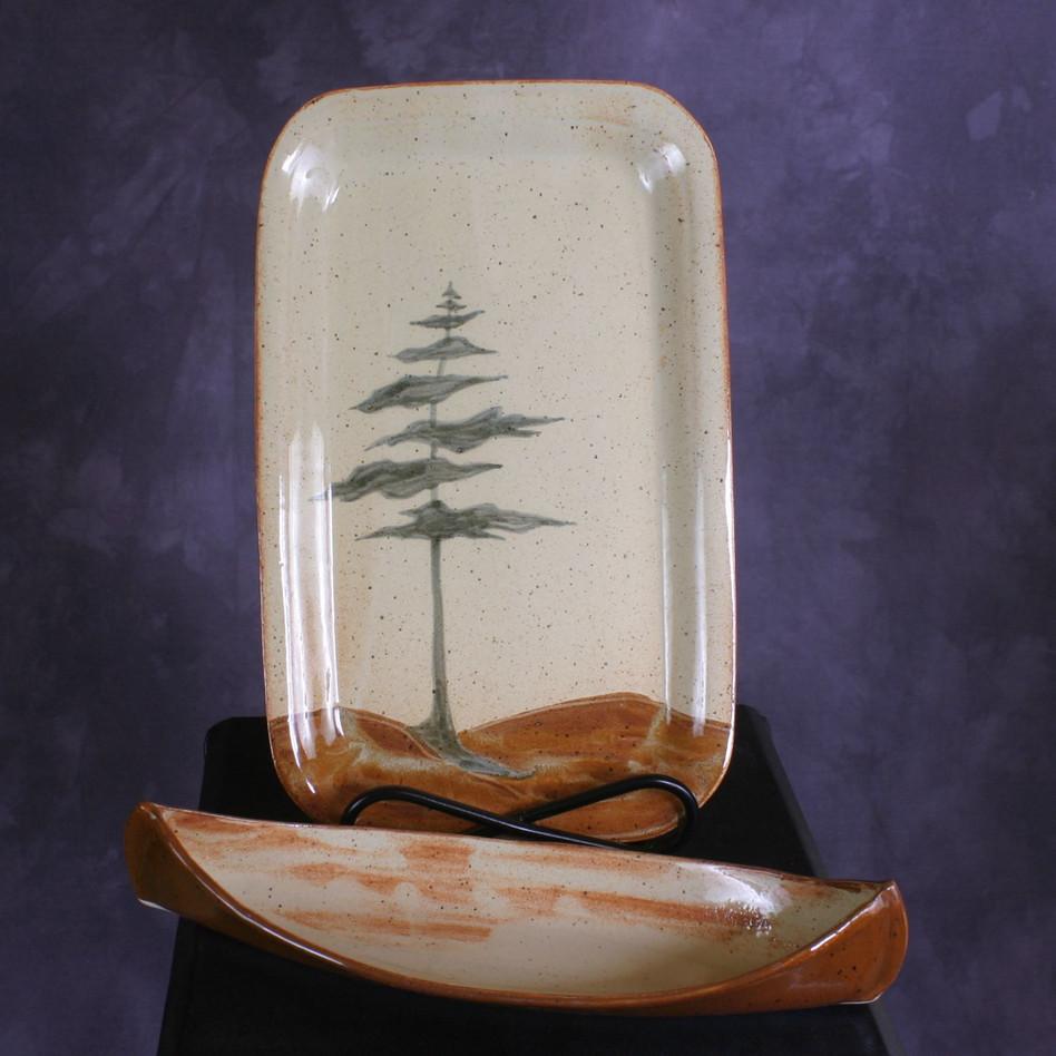 Canoe set - White pine