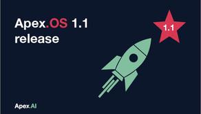 Apex.OS 1.1 Release