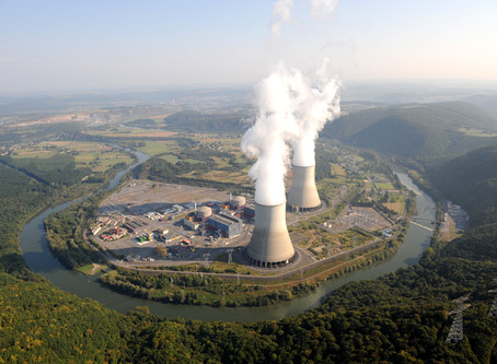 Visite de la centrale nucléaire de Chooz en février 2020