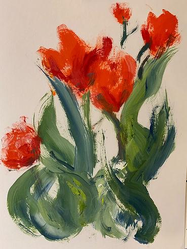 Red Tulip 1 - $100