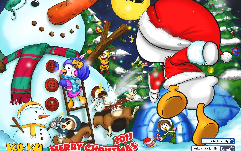 主題彩畫 - Christmas 2015