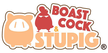 boastcock and stupig logo