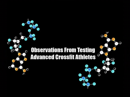 Observations From Assessing Advanced Crossfit Athletes
