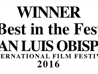 """Best in the Fest"" Audience Award at SLO Film Festival"