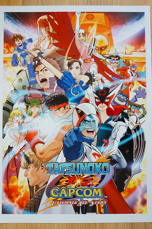 Tatsunoko Vs. Capcom Poster B2 Size