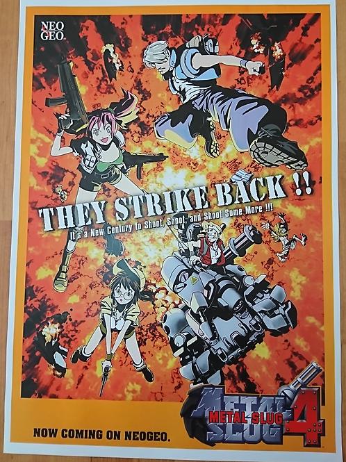 Metal Slug 4 Poster B2 Size