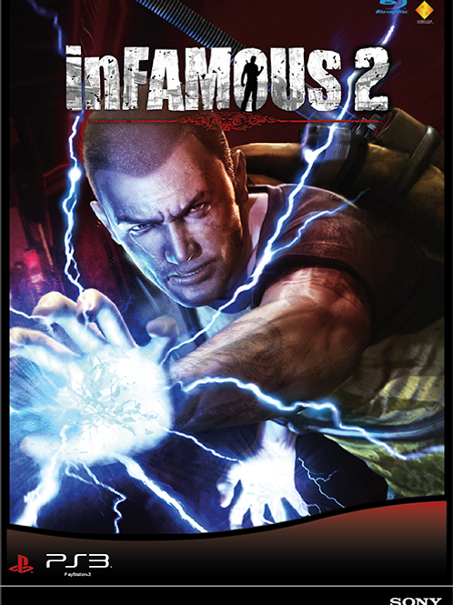 Infamous 2 Poster B2 Size