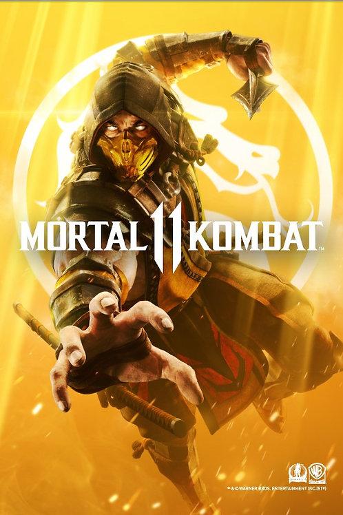 Mortal Kombat 11 Poster B2 Size