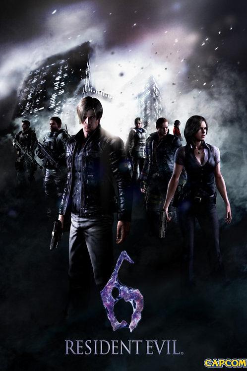 Resident Evil 6 Poster B2 Size