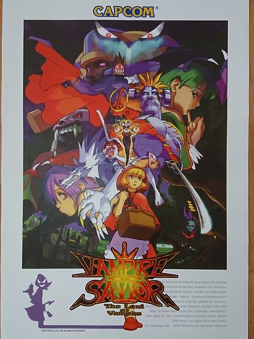 Vampire Savior Poster B2 Size