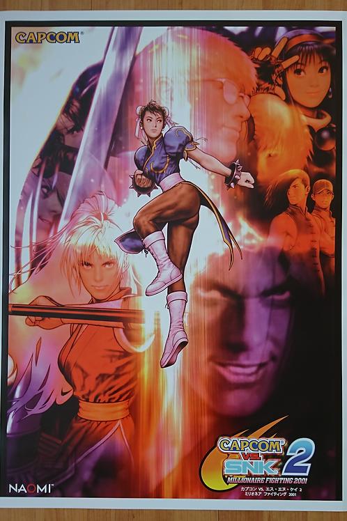 Capcom Vs. SNK 2 Poster B2 Size