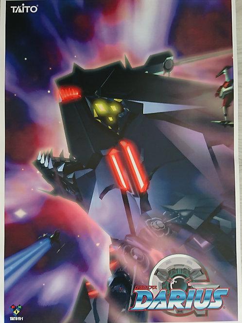 G-Darius Arcade Poster B2 Size