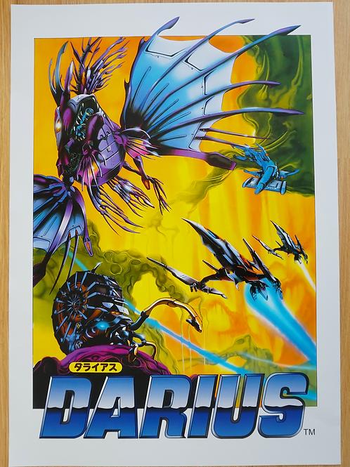 Darius Arcade Poster B2 Size
