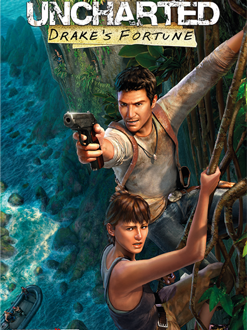 Uncharted Drake's Fortune Poster B2 Size