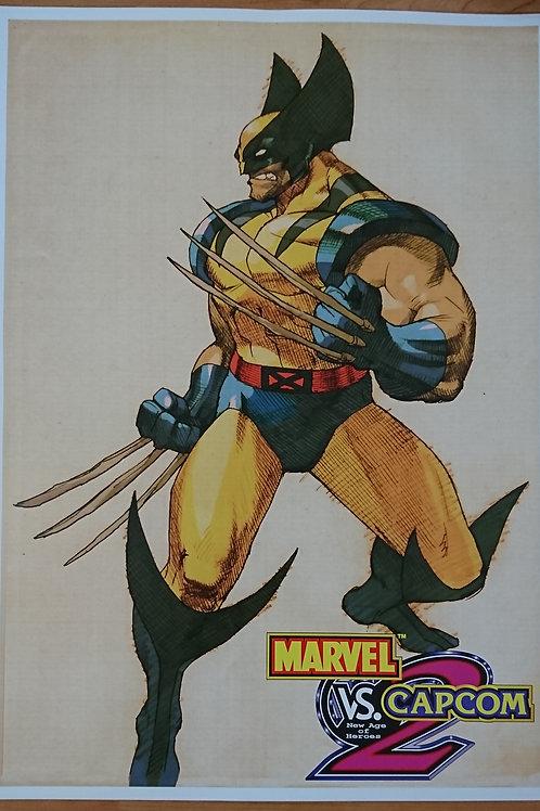 Marvel Vs. Capcom - Wolverine Poster B2 Size