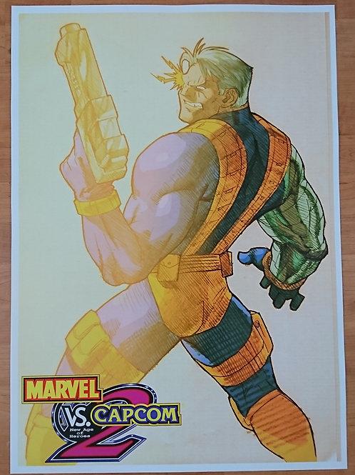 Marvel Vs. Capcom - Cable Poster B2 Size