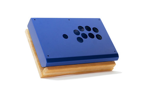 Metallic Blue Fight Stick CASE