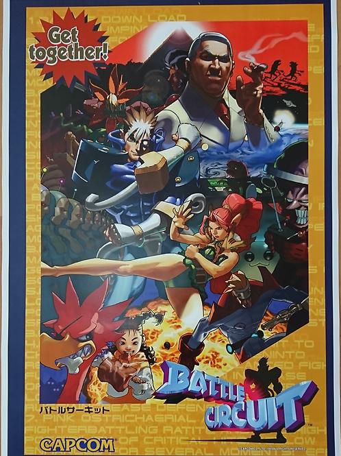 Battle Circuit Poster B2 Size