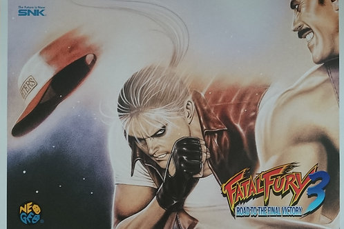 Fatal Fury 3 Arcade Poster B2 Size