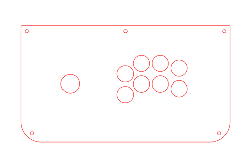 TMX - Extra Layout. Sega 2P Style Stainless Steel