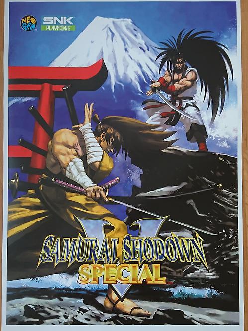 Samurai Shodown V Special Poster B2 Size