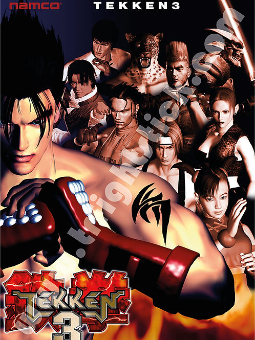 Tekken 3 Poster B2 Size
