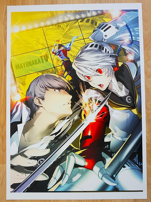Persona 4: The Ultimate in the Mayonaka Arena Poster B2 Size