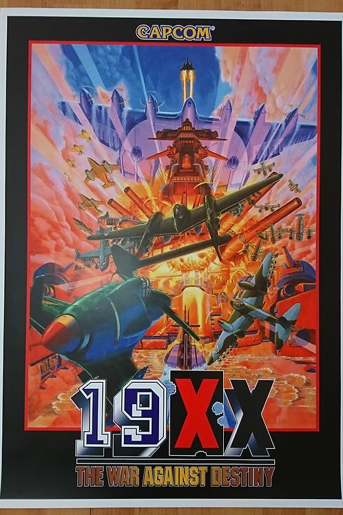 19XX Arcade Poster B2 Size