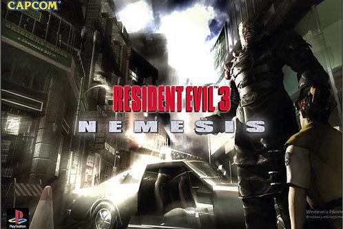 Resident Evil 3 Poster B2 Size